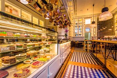 View of Celicioso gluten-free restaurant in Madrid