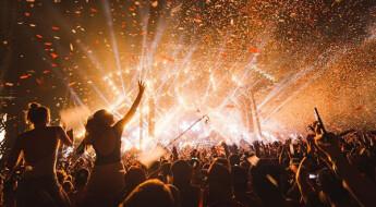 Image of music festival in Madrid
