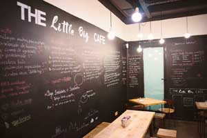 The Little Big Café in Madrid
