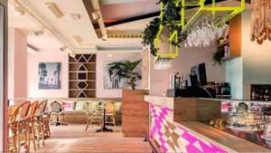 Wanda cafe in Madrid