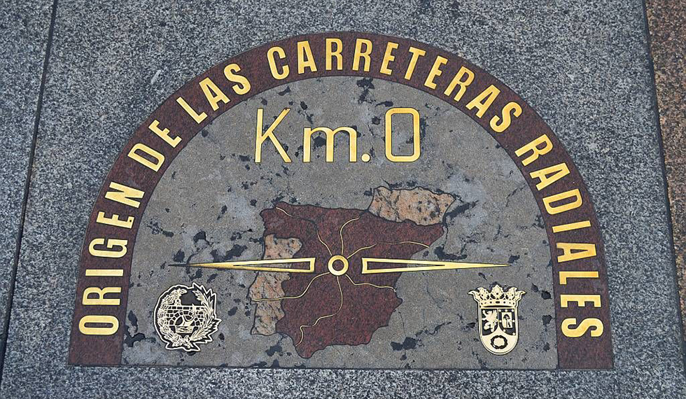 Image of Km 0 in Madrid
