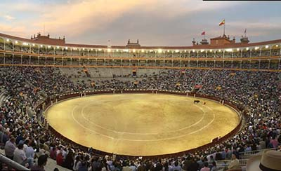 Image of Las Ventas plaza de toros in Madrid