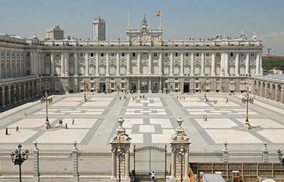 Image of the Royal Palace of Madrid
