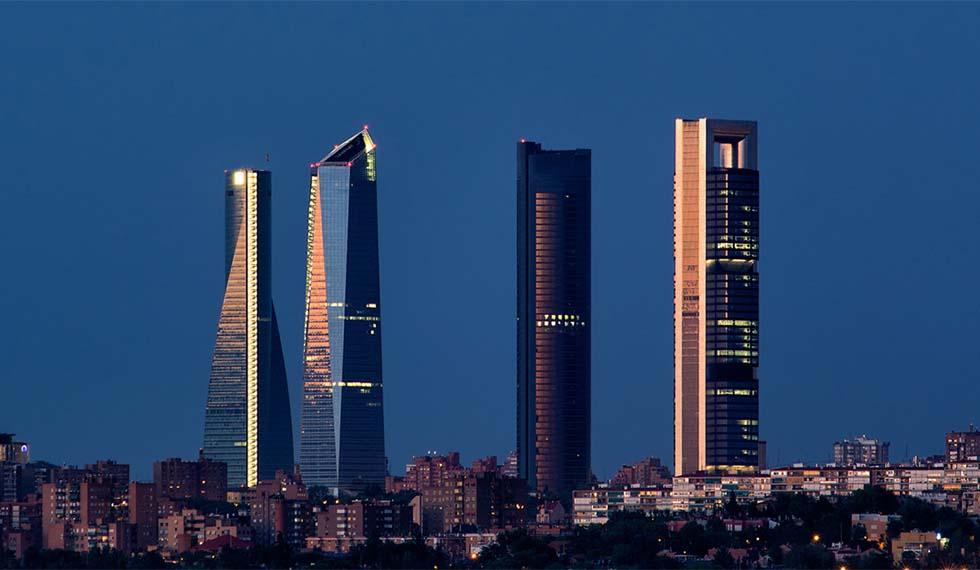 Image of Madrid in the de-escalation